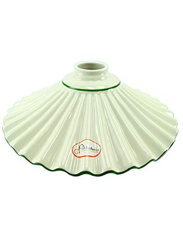 Ersatzteile Glas Liberty für Lampen, Notebook Eingefasster Keramik grün, Schirm für Lampen...