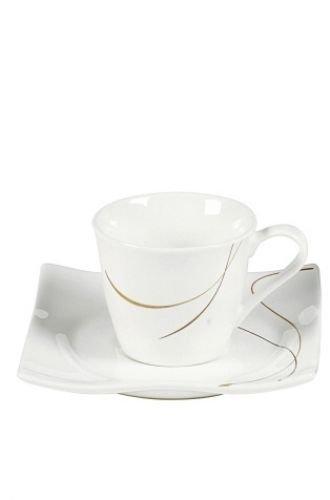 Via By R&B Geschirr-Serie Scala Material Espresso-Set Scala 12 tlg
