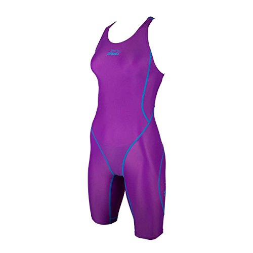 ZAOSU Wettkampf-Schwimmanzug Z-Purple für Mädchen und Damen, Größe:140