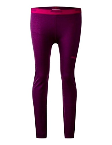 Bergans Akeleie Tight Tech Pants black/nero, taglia: Plum/Cerise