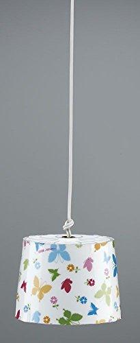 Kahlert lámpara 10.525 Colgantes, lámpara de Techo con Mariposas DE 3,5 V para casa de muñecas