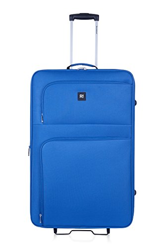 REVELATION Alex - 2 Wheel Large Expandible Rollercase Blue 4.1kg Valigia, 77 cm, 91 liters, Blu (Blue)