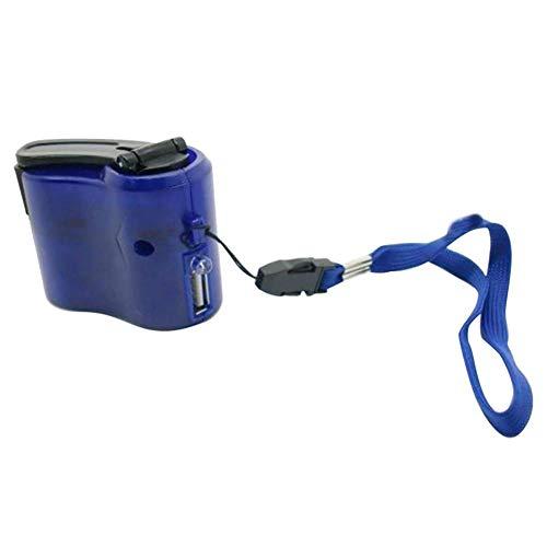 prettygood7 Mini-Handkurbel Power Manueller Generator Reise-Notfall USB-Handy-Ladegerät - Mini-power-generator