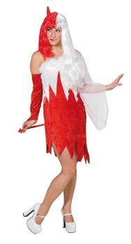 """Karneval Halloween Teuflischer Engel Kostüm """"Himmel & Hölle"""", Größe:38"""