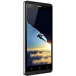 Telephone Portable Pas Cher 4G, 16Go ROM, 5.0 Pouces, 5MP Android 7,0 Dual SIM Telephone Portable Debloque 2800mAh WiFi GPS Bluetooth 4.0 Smartphone Pas Cher sans Forfait (Noir.)