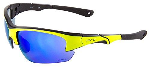 NRC Sportbrille S4.YD Sonnenbrille Schwarz Gelb Cat.3