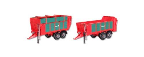 Preisvergleich Produktbild Kibri 12237 - H0 Kemper UniTrans 1800 Häckselgutanhänger