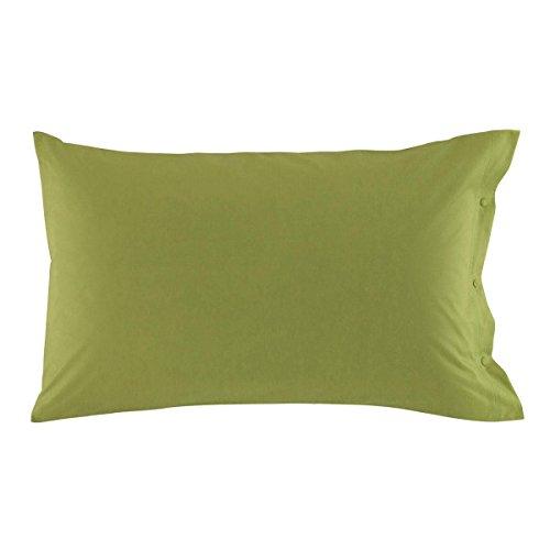 Zucchi clic clac federa, verde muschio, 50 x 80 cm