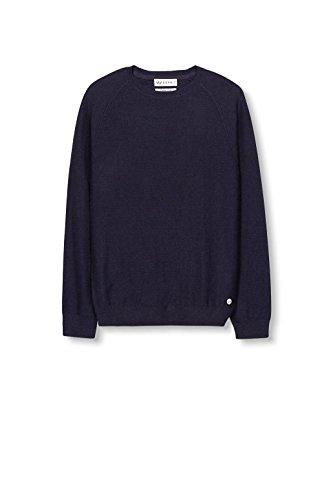ESPRIT Collection Herren Pullover Blau (Navy 400)