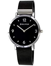 Reloj Bilyfer para Mujer con Correa Negra y Pantalla en Negro 3P556B-P
