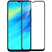 Chevron Samsung Galaxy M20 Full Coverage 6D Tempered Glass Screen Protector - Sapphire Black