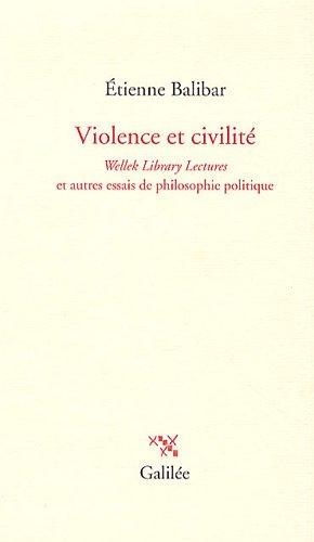 Violence et civilité