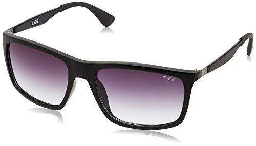 IDEE Gradient Square Men's Sunglasses - (IDS2212C1SG 58 Smoke Gradient Color)