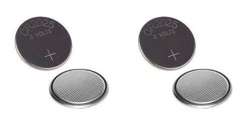 Preisvergleich Produktbild Techtastic (4x) CR2025 Schlüssel Autobatterien 2025 / Alarm fob Batterien der Fernbedienung
