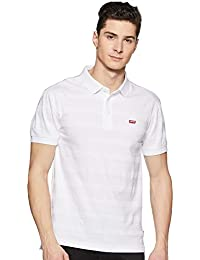 Levi's Men's Striped Regular Fit Polo