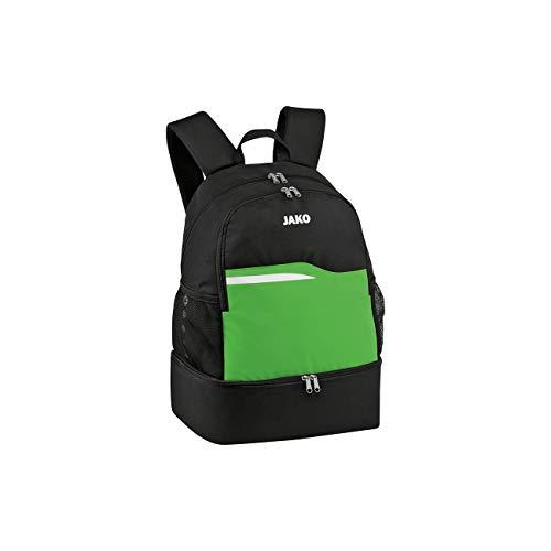 Jako Competition 2.0Mochila, Todo el año, Unisex Adulto, Color Schwarz/Soft Green, tamaño 34x24x48 cm