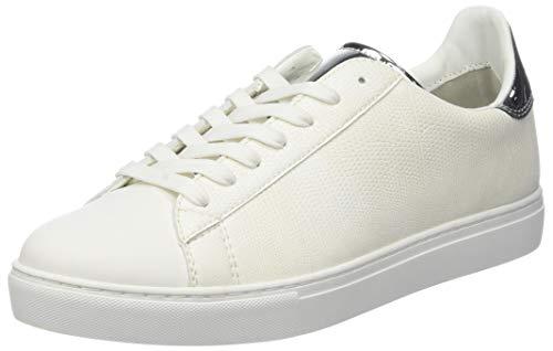 Armani Exchange Low-Top sneaker, Herren Niedrig, Weiß (White 00001), 43 EU (9 UK)