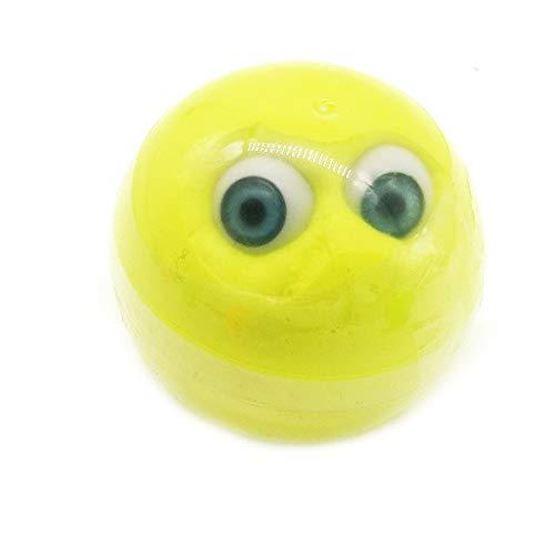 gapfel Schleim Spielzeug Fluffy Slime mit Box Flauschige Duft Magie Plastilin Schöne Schlamm Lehm, Stressabbau für Kinder und Erwachsene, [Non Toxic] ( Gelb) ()