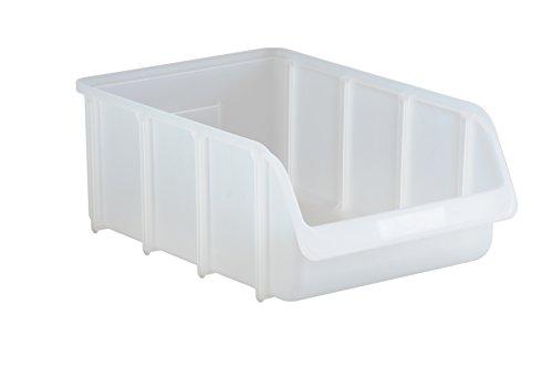 hünersdorff Sichtbox / Stapelbox / Lagerbox in Größe 5, stapelbar, Farbe: Transparent