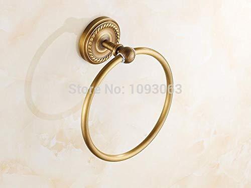 Joeesun Kupfer antiken Handtuch Ring übergroßen hängenden dicken Chassis Badzubehör