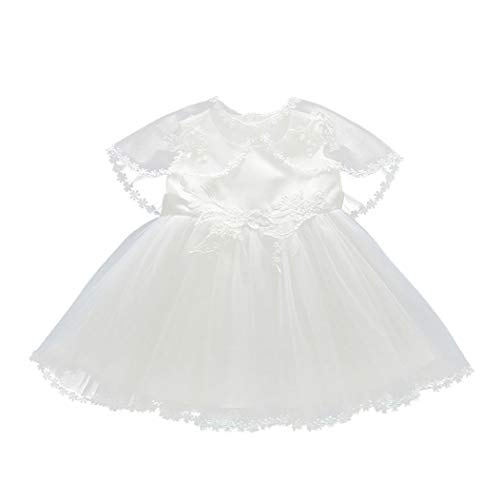 Mao Anzug Kostüm - zhbotaolang Taufe Neugeborenes Geburtstag Prinzessin Kleider- Säugling Mädchen Rundhals Hochzeit Ostern Dreiteiliger Anzug Kostüm 3M