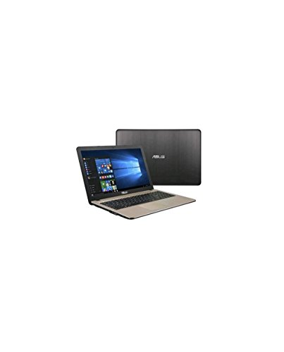 "Asus X540NA-GQ031T Notebook, Display da 15.6"", Processore Pentium N4200, 1.1 GHz, HDD da 500 GB, 4 GB di RAM, Chocolate Black [Layout Italiano]"