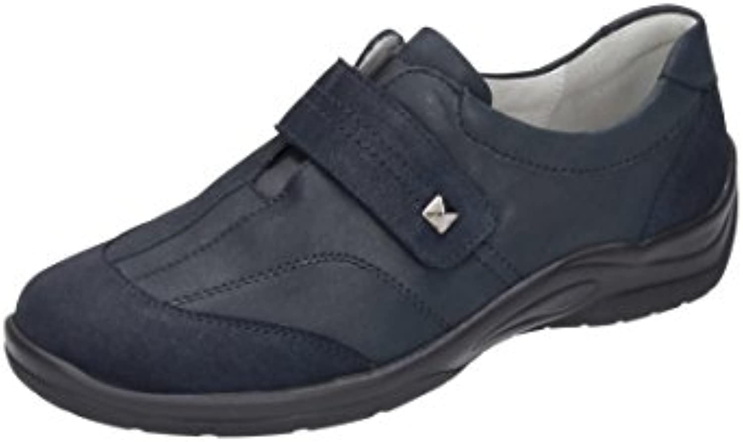 Waldlufer Damen Ballerinas, Pumps Blau, 941799-5