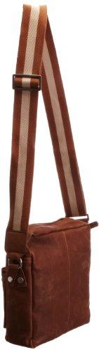 Bugatti Umhängetasche Go West, 26 cm, Cognac (Braun), 49530607 Cognac