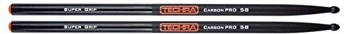 drumsticks 5b Techra Carbon Pro 5B SG Schlagzeugstöcke/Drumsticks