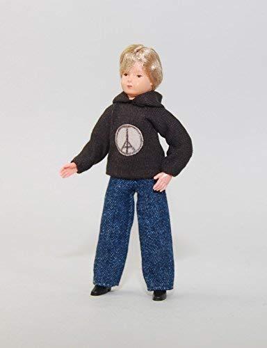 """Gebraucht, Caco 11152400 Puppe """"Junge"""" 11,5 cm Jeans, Kapuzenpulli gebraucht kaufen  Wird an jeden Ort in Deutschland"""