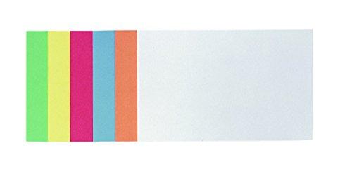 Franken MKS2199 - Lote con 300 tarjetas de presentación adhesivas rectangulares, 14,9 x 9,8cm