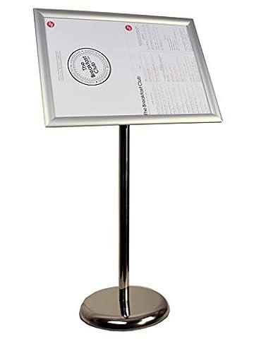 Panneau Affichage Sur Pied - Alsero réglable métallique sur pied support de