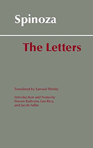 Spinoza: The Letters (Hackett Classics)