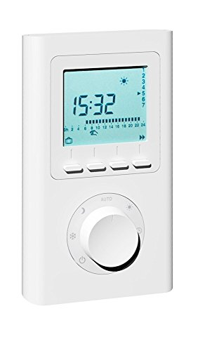 Funk-Raumregler X2D, Funk-Thermostat/Funksender für AeroFlow-Elektroheizung mit X2D-Funkempfänger
