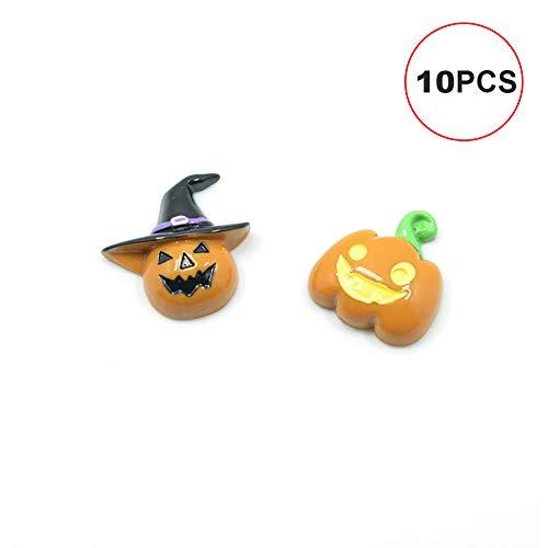Art und Weise 10pcs Kürbis mit Hut für Dekoration Zubehör Halloween-Kostüm-Telefon