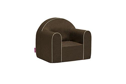Mini Kindersessel Kinder Babysessel Baby Sessel Sofa Kinderstuhl Stuhl Schaumstoff Umweltfreundlich (Hat Kind Braun Schaumstoff)