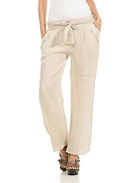 Mississhop, hergestellt in EU Pantalón - Capri - Básico - para Mujer