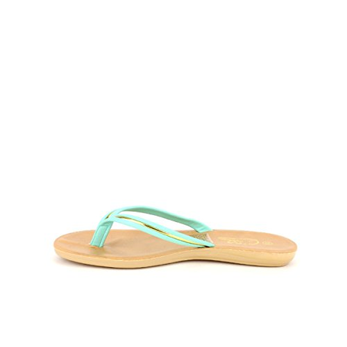 Cendriyon Tong Verte PVC cm KINME Chaussures Femme Vert