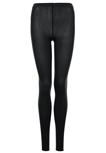 Wolford Damen Velvet 66 Leggings 66 DENIER black L (Wolford Leggings)