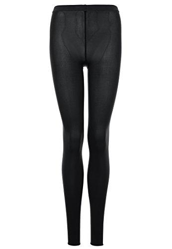 Wolford Damen Velvet 66 Leggings 66 DENIER black L (Leggings Wolford)