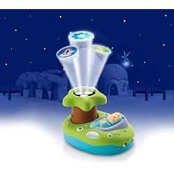 Smoby - 211424 - Jouet d'éveil et 1er Age - Cotoons - Lampe De Nuit Projecteur - Veilleuse projecteur