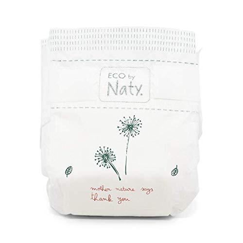 ECO by Naty Einwegwindeln für empfindliche Haut, Größe 4, 7-18 kg, 2 x44 (88 Stück) - 3