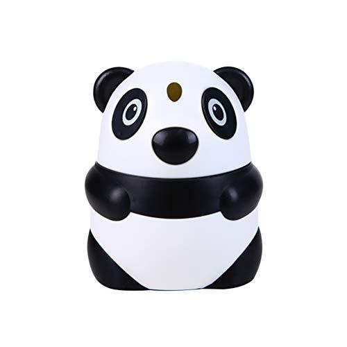 BESTONZON Panda Zahnstocherhalter Niedliche Zahnstocherbox Kreative Automatik Zahnstocher Halter Tasche Baumwolle Ball Spender Tischdekoration