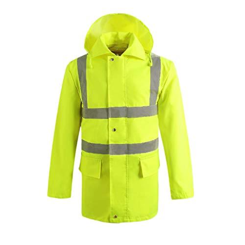 Salopette réfléchissante Unisexe de sécurité réfléchissante de Gilet Pare-balles Haute visibilité, vêtements réfléchissants extérieurs (Taille : M)