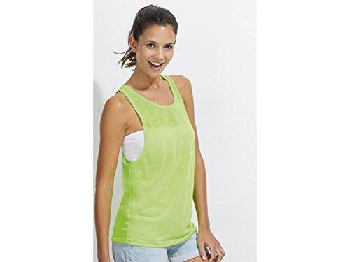 ATELIER DEL RICAMO - T-shirt de sport - Femme Verde Fluorescente