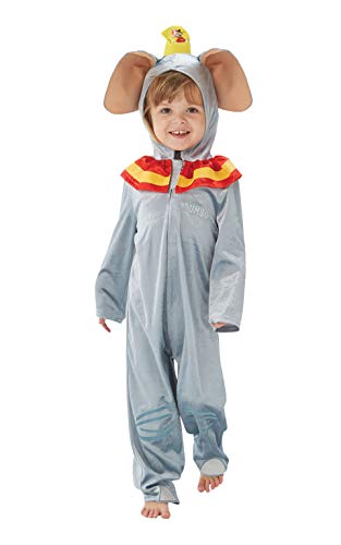 Dumbo Disney Kostüm - Rubie's Offizielles Disney Dumbo Elefant Kinderkostüm, Jumpsuit
