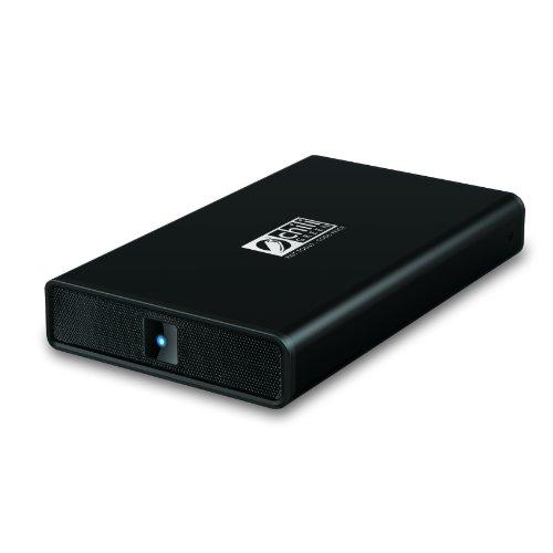 chiliGREEN ILO externe Festplatte 3,5'' 1 TB (USB 3.0, Aluminium, schwarz)