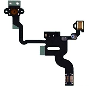 Power Switch Netzschalter Sensor Flex Kable Ersatzteil für Apple iPhone 4