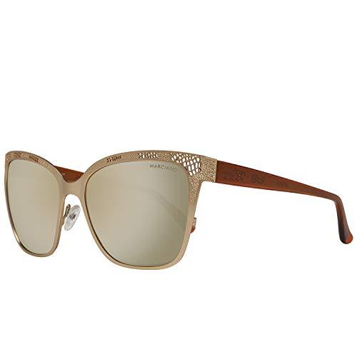 Guess MARCIANO Damen GM0742-5732G Sonnenbrille, Gold, 57