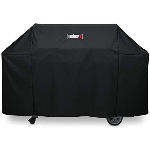 Weber Abdeckhaube Premium für Genesis 600 Serie, schwarz, 15.9 x 22.7 x 17.2 cm, 7136
